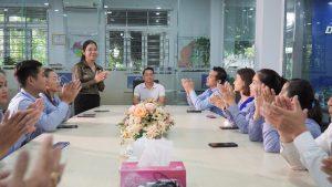 Ảnh: Bà Vi Hoài Thương - Giám đốc điều hành DOSA Land.